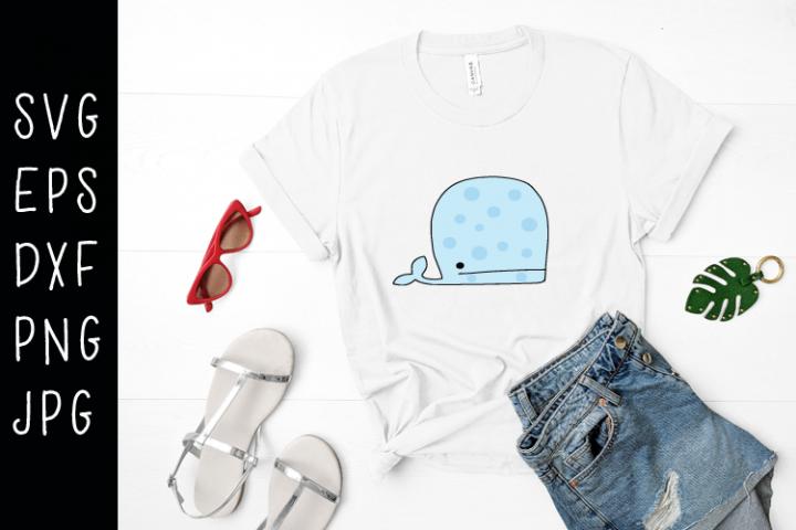 Whale SVG
