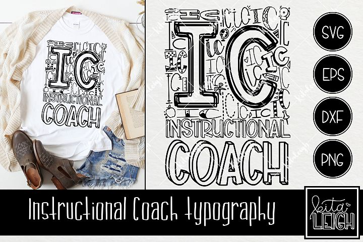 Instructional Coach Typography