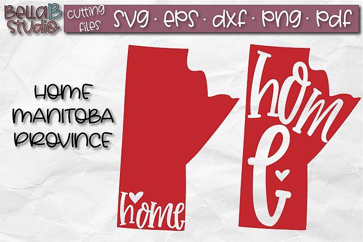 Manitoba Home Province SVG, Canada SVG, Canadian SVG