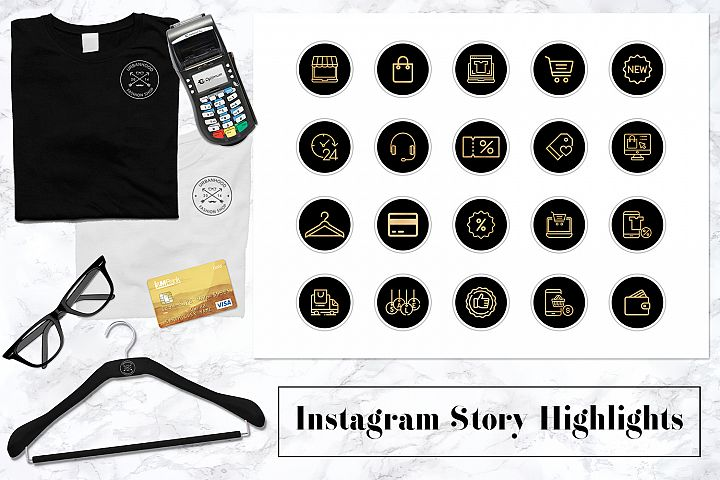 Business Instagram Story Icons