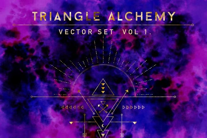 Triangle Alchemy - Vector Set
