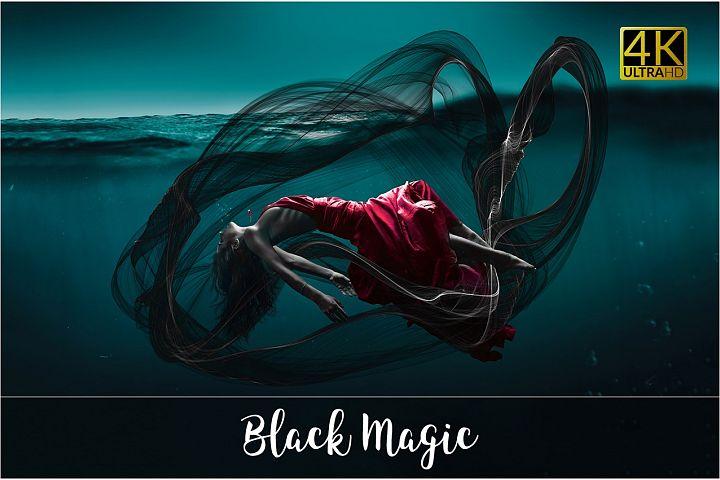 4K Black Magic Overlays
