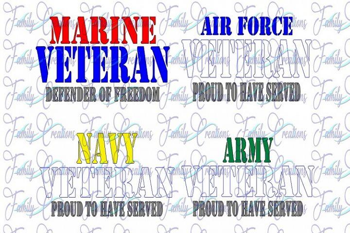 Military Veteran Bundle