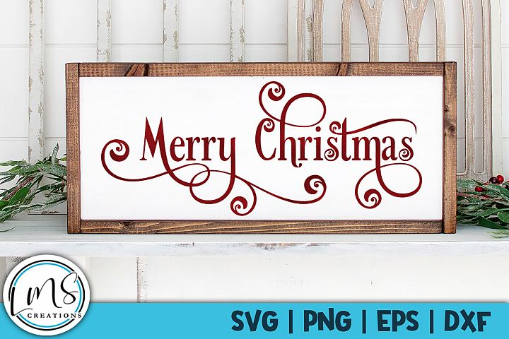 Merry Christmas SVG, PNG, EPS, DXF