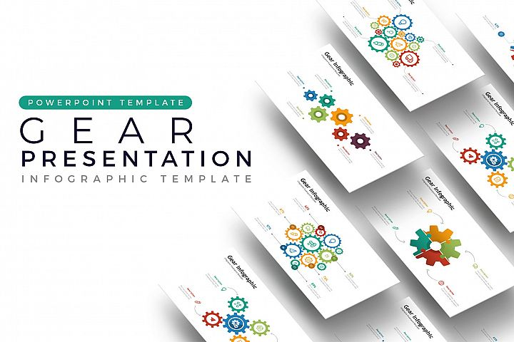 Gear Presentation - Infographic Template