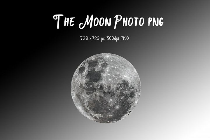 The Moon Photo PNG