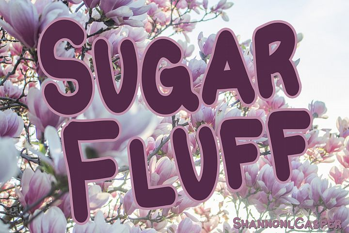 Sugar Fluff Fun Handwritten Font