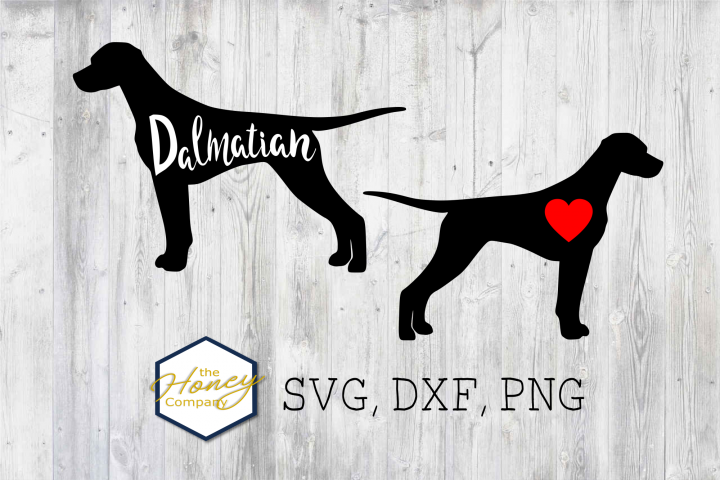 Dalmatian SVG PNG DXF Dog Breed Lover Cut File Clipart