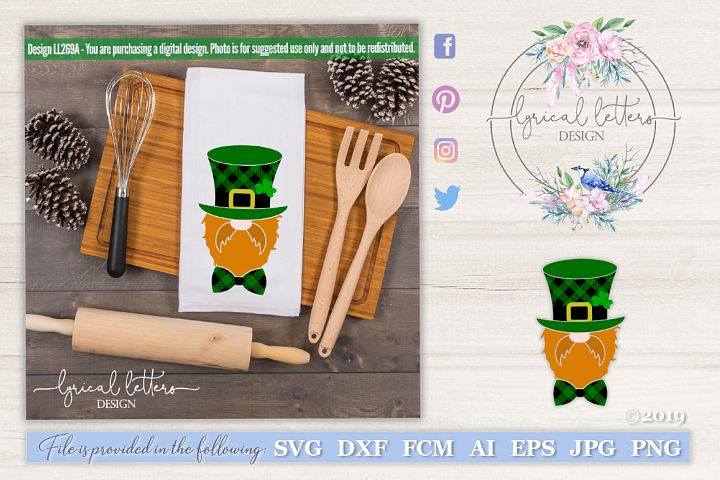 NEW! Leprechaun St. Patricks Day Art SVG LL269A