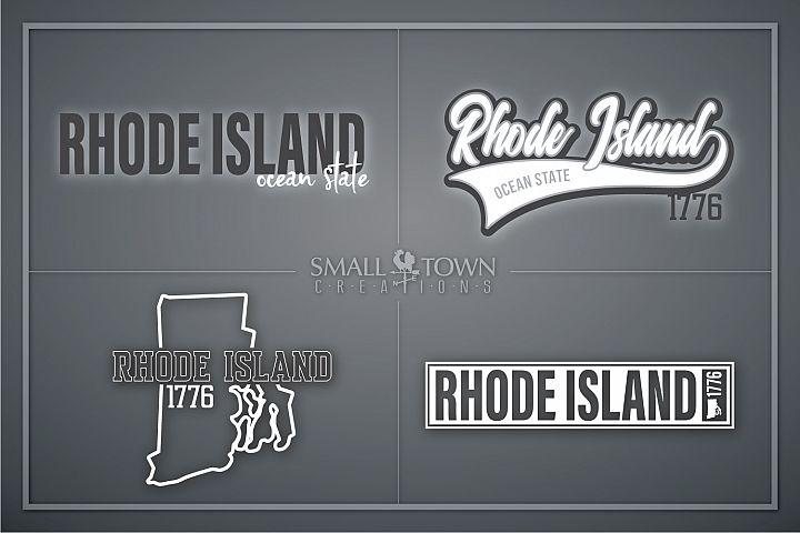 Rhode Island, Ocean State - slogan, PRINT, CUT & DESIGN