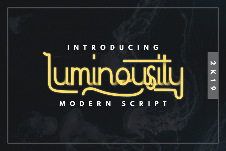 Luminousity - Modern Script