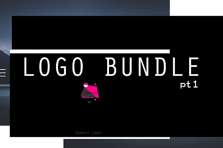 Simple Minimalist Logo pt.1 BUNDLE