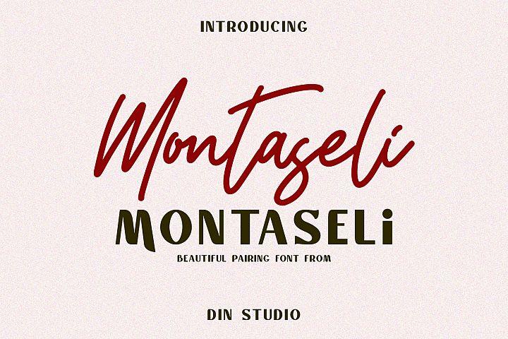 Montaseli Font Duo