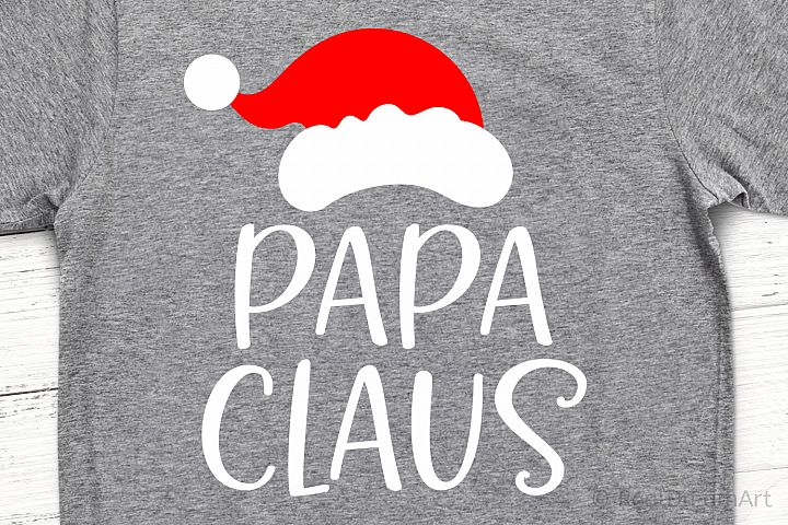 Papa Claus SVG, DXF, PNG, EPS