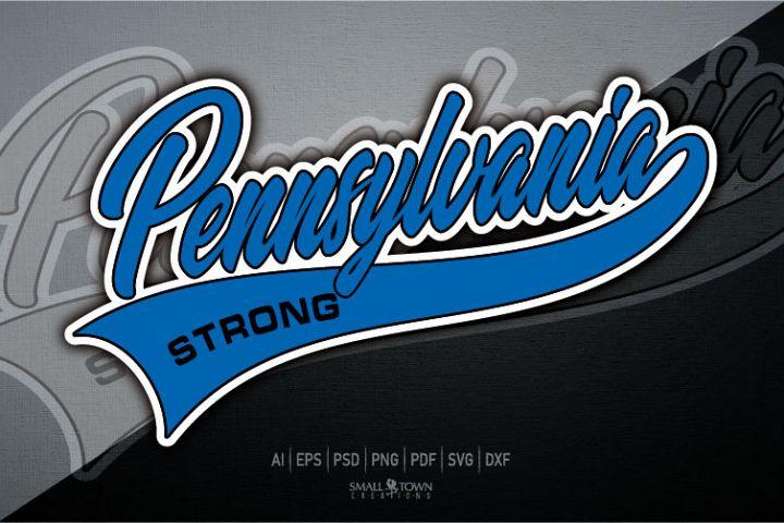 Pennsylvania, Pennsylvania Strong, PRINT, CUT, DESIGN