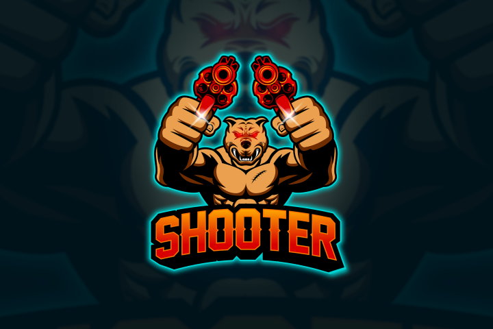 Shooter - Mascot & Esport Logo