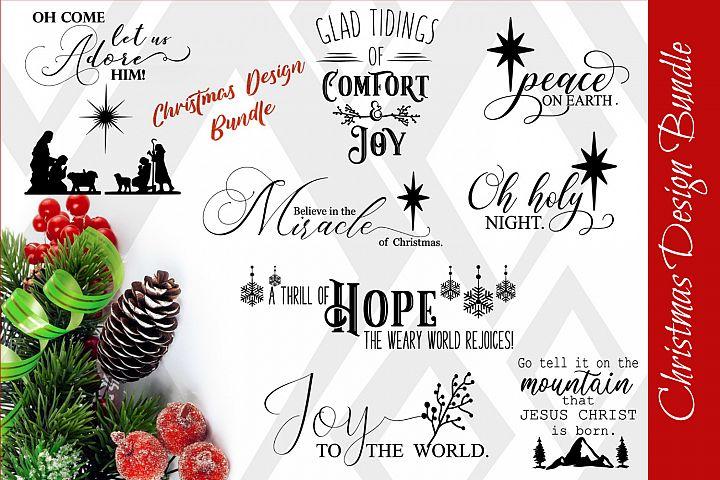 Christmas Designs, SVG FILES