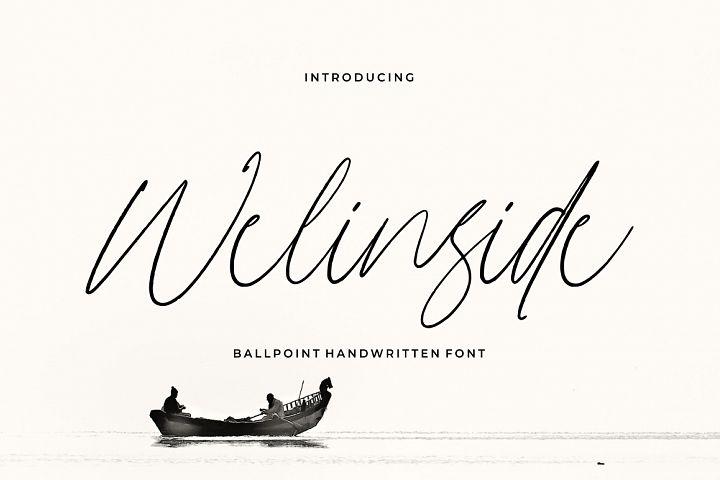 Wellinside - Handwritten Font