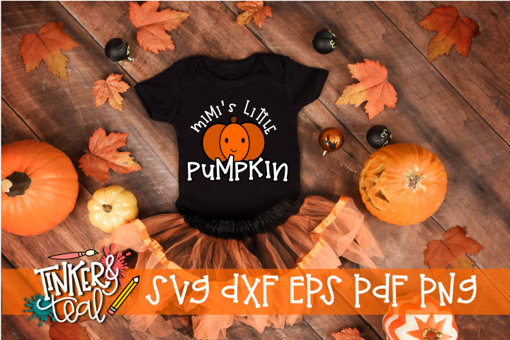 Mimis Little Pumpkin Fall SVG
