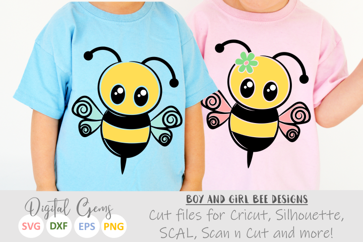 Mr and Mrs Bee SVG / EPS / DXF / PNG files