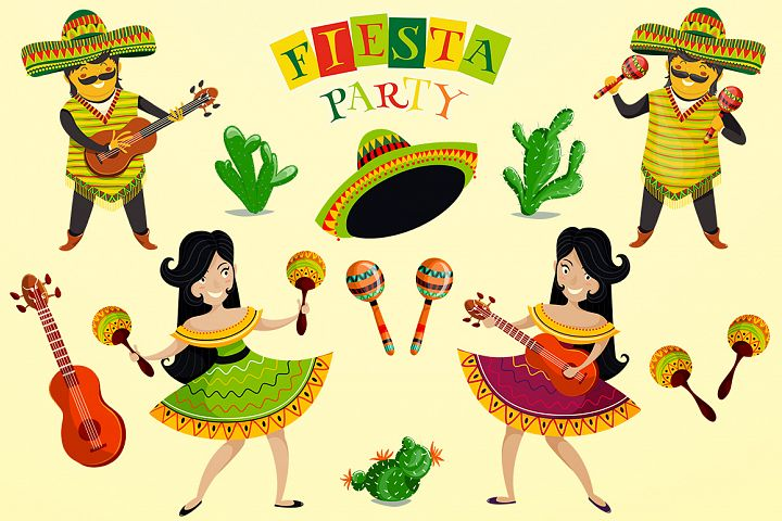 Fiesta party collection