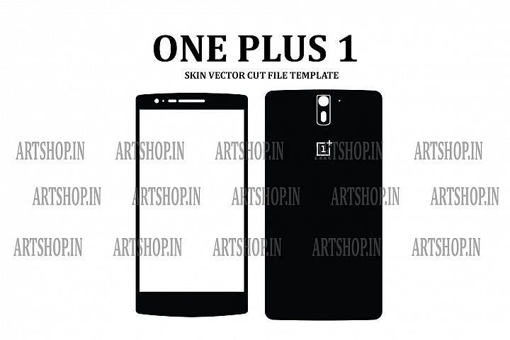 One Plus 1 Vinyl Skin Vector Cut File