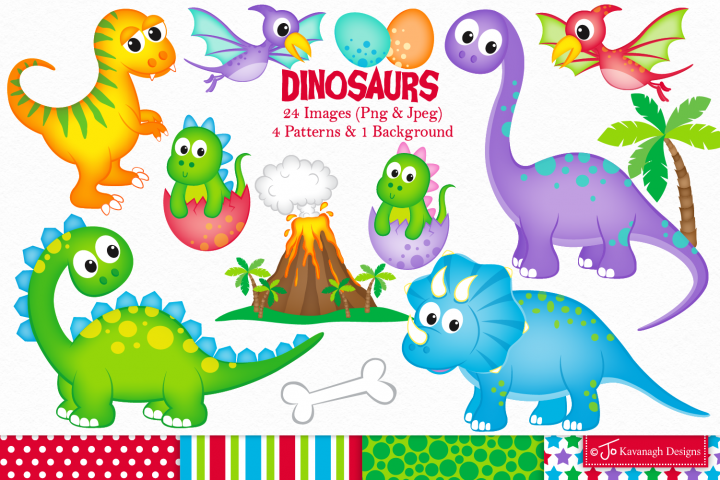 Dinosaur clipart, Dinosaurs graphics & Illustrations, T-rex