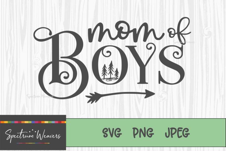 Mom of Boys Cut file