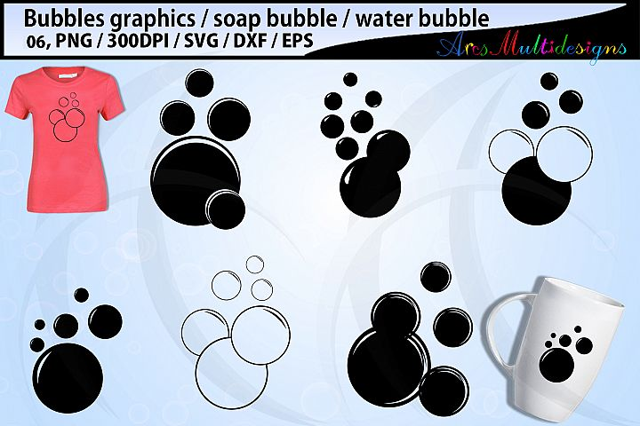 Bubbles SVG Bundle / bubble vector / bubbles silhouette