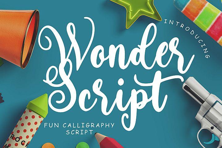 Wonder Script Fun Calligraphy