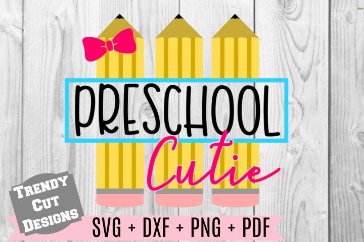 Pencil Preschool Set, Back to School example image 1