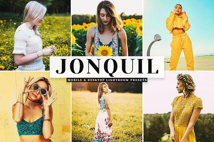 Jonquil Mobile & Desktop Lightroom Presets
