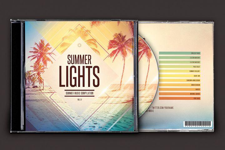 Summer Lights CD Cover Artwork