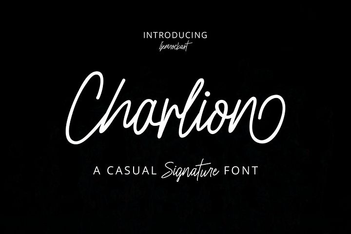 Charlion Script 2 Style