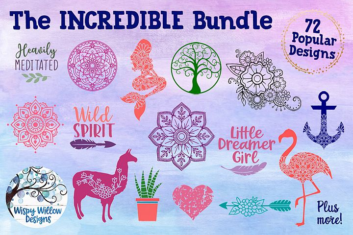 The Incredible Bundle - SVG Cut Files
