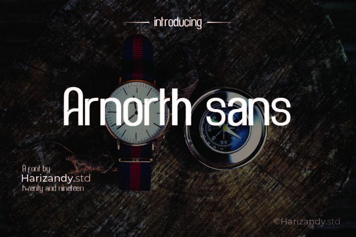 Arnorth sans