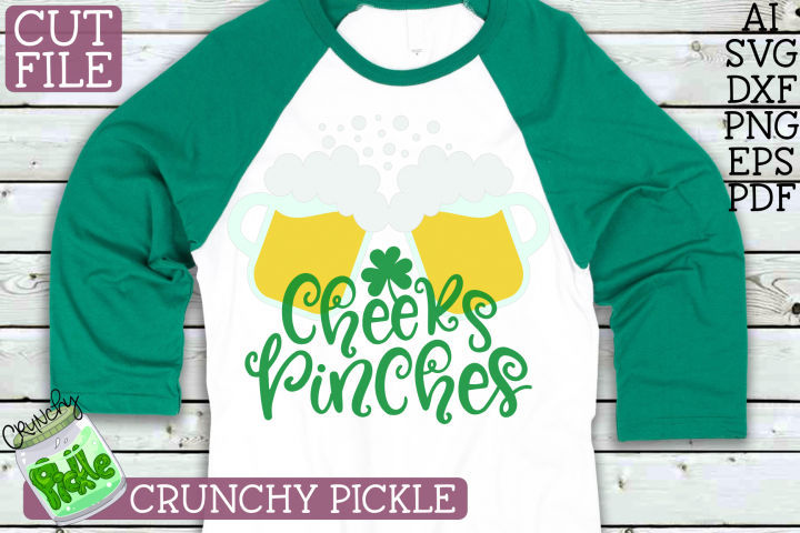 Cheers Pinches St. Patricks Day SVG File