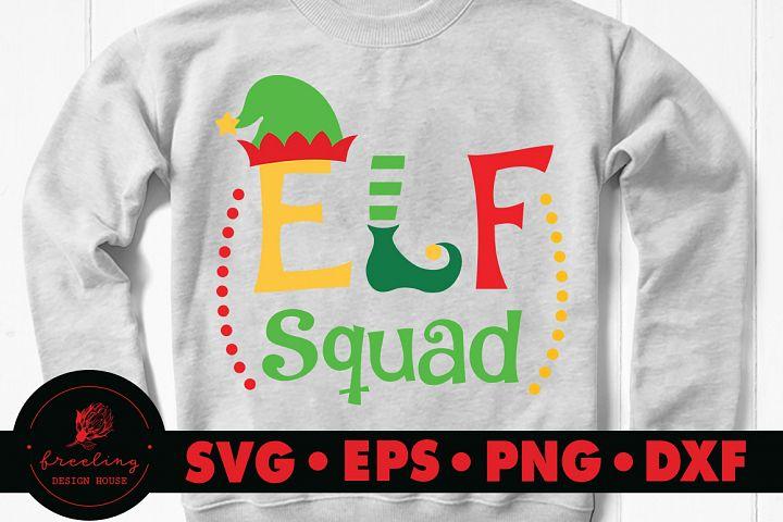 Elf Squad SVG DXF EPS PNG