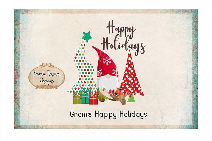 Gnome Happy Holidays