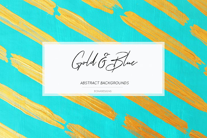 Gold Blue Backgrounds, Wedding Invitation Papers