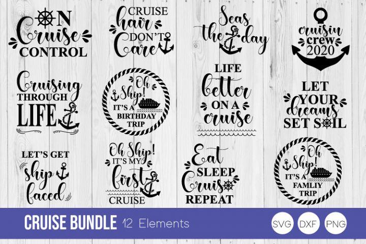Cruise Bundle SVG Cut Files