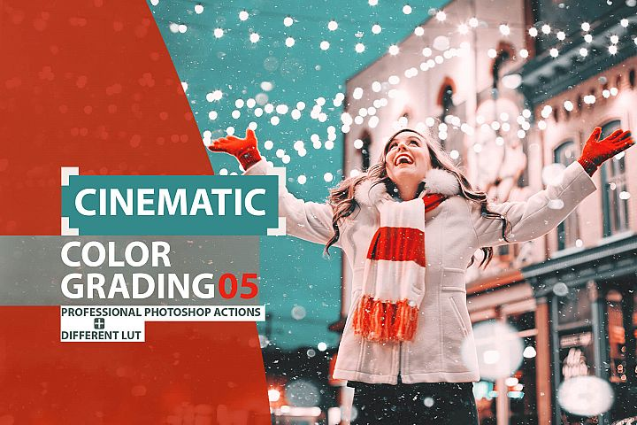 Cinematic color grading 05 Photoshop Actions