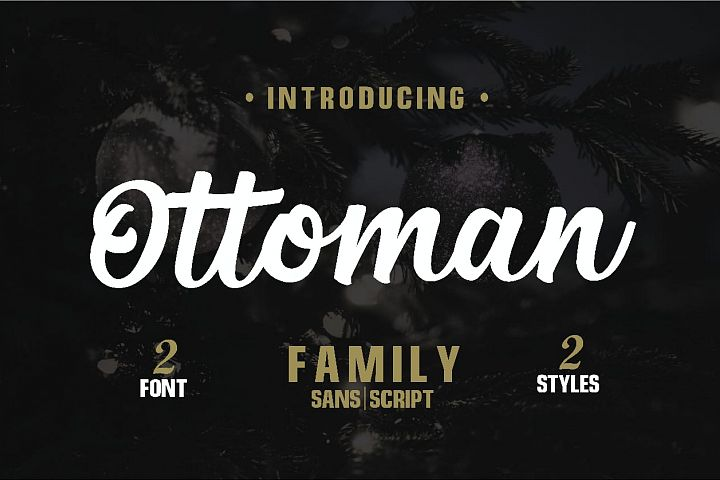 Ottoman Font Duo