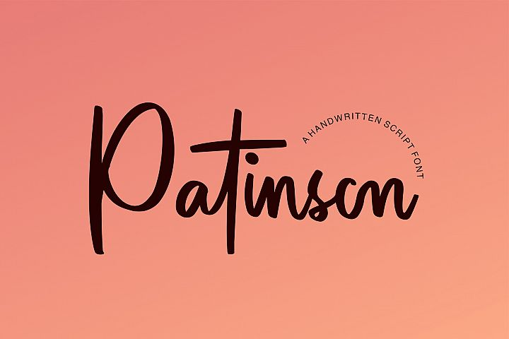 Patinson Script