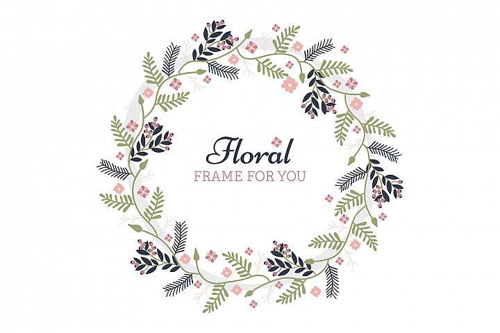 Foral Frame spring design
