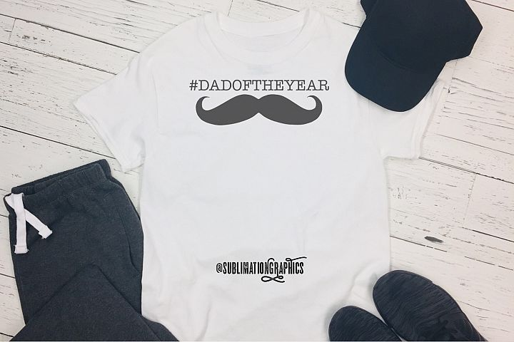 #DADOFTHEYEAR Sublimation PNG