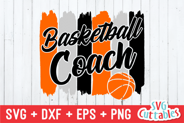 Basketball Coach | SVG Cut File example image 2