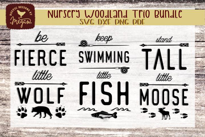 Woodland Nursery svg Bundle