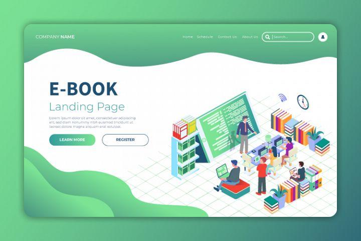 Ebook 3 - Landing Page Illustration
