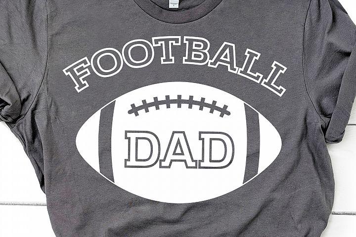 Football Dad Svg, Cheer Dad Svg, Football Svg, Sons Biggest